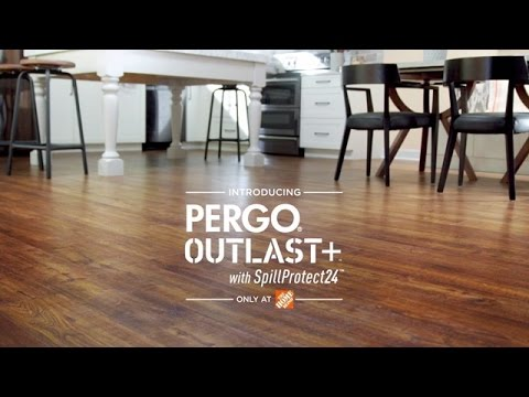 Pergo Outlast With Spillprotect24 Youtube