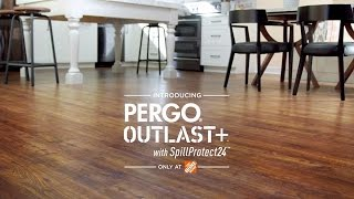 Pergo Outlast+ with SpillProtect24™