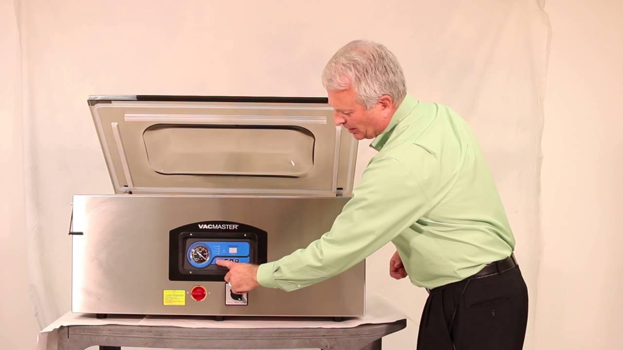 how to operate the vp330 chamber vacuum sealer - Chamber Vacuum Sealer