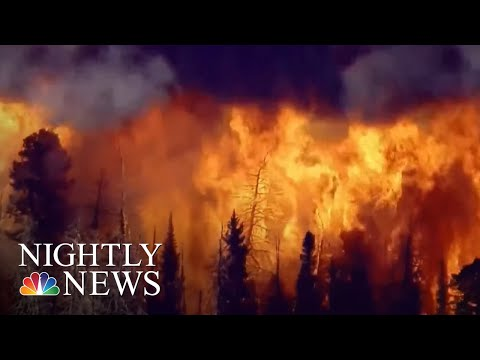 Firefighters Battle Wildfires And Heat On West Coast | NBC Nightly News
