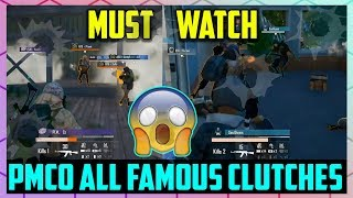 PMCO GLOBAL FINALS ALL FAMOUS CLUTCHES HIGHLIGHTS || PMCO SPRING SPLIT BERLIN 2019