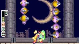 Megaman Zero 3 - Megaman Zero 3 boss stage Deathtanz Mantisk - User video