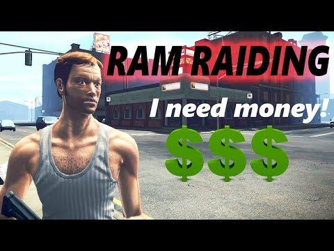 Making Criminal Money | Ram Raiding (APB Tips & Tutorials)