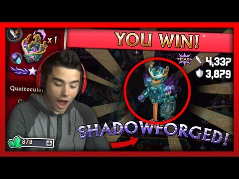 Knights and Dragons - CRAZY Quatto Codex Chests Opening! Quattoculorum Shadowforged! - 동영상