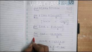 CLASS XII EX 7.8 NCERT Limit as a Sum Solution thumbnail
