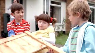 Tosia i Tymek po polsku 129 - przenoszenie domów | dla dzieci bajki po polsku