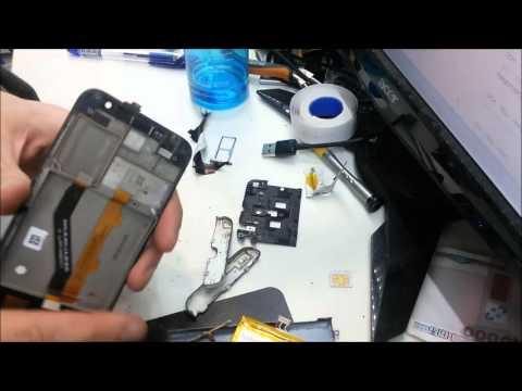 Alcatel idol 2 mini 6016 замена дисплея