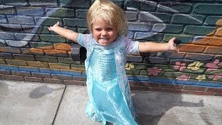 Tydus SNEAKS Onto A Ride At Disneyland! (He's a Princess!)