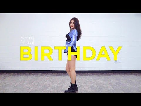 SOMI 전소미 'BIRTHDAY' | 커버댄스 DANCE COVER | 안무 거울모드 MIRRORED | 은비 EUNBI