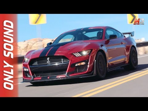 NEW MUSTANG SHELBY GT  - FIRST TEST DRIVE ONLY SOUND