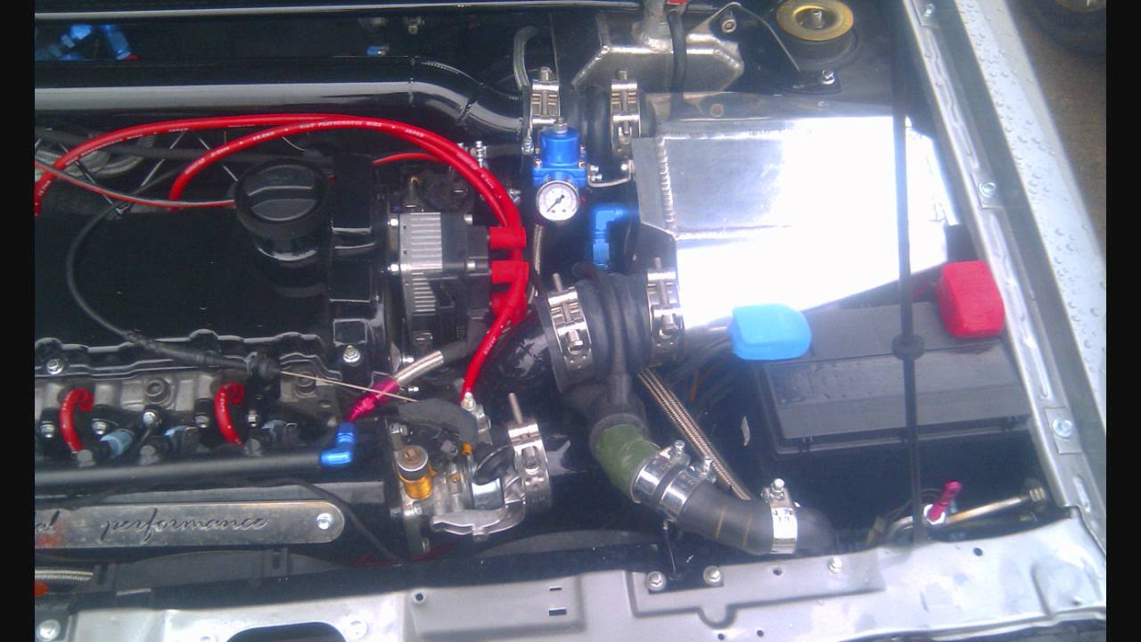 Caddy Vr6 Supercharger Vortech Engenering HD  YouTube
