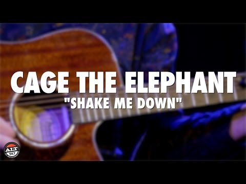 """Cage The Elephant """"Shake Me Down"""" Live Acoustic"""