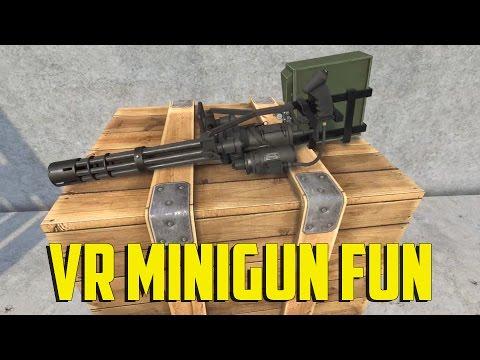 H3VR - VR Minigun Fun