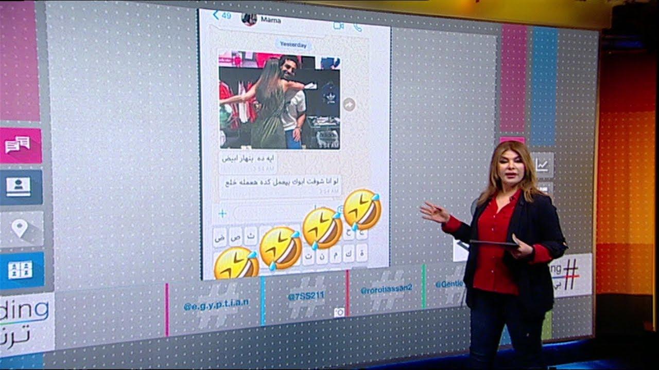 والدة محمد صلاح تعلق على صورة حضنه لفتاة في دبي