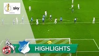 1. FC Köln - TSG 1899 Hoffenheim 2:1 n.V. | Highlights DFB-Pokal 2. Runde