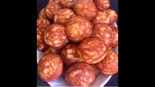 African Rice Donuts: How to make Vitumbua/ East African Rice Donuts (Swahili)