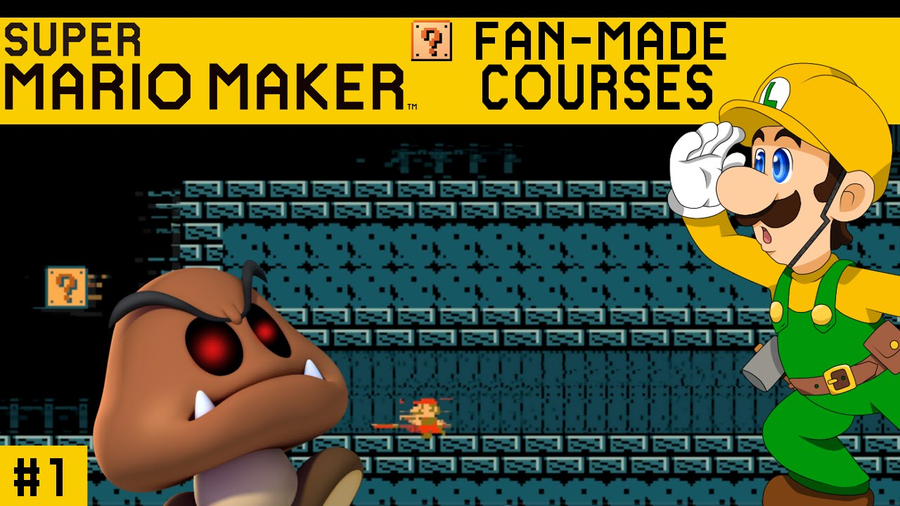 c09f80f61f5 CAN MARIO MAKER BE SCARY  - SUPER MARIO MAKER FAN-MADE COURSES ...