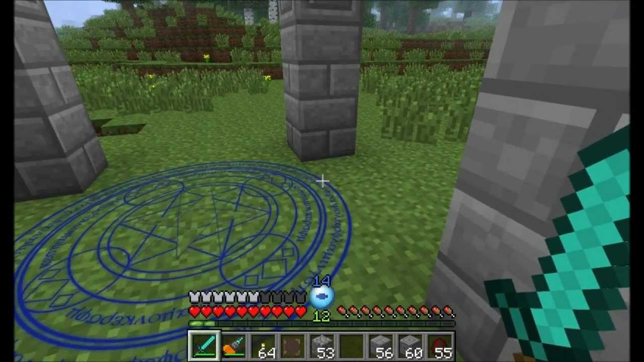 Minecraft magic books mod