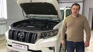 Усиленная защита от угона для Toyota LC Prado 2017 г. : дверные штыри и многое другое