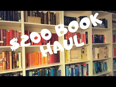 $200 Book Fair Haul | Buy Secondhand Books With Me!