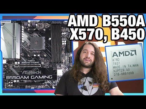 "AMD ""B550"" Chipset Vs. B550A, B450 Explained: ASRock B550AM Gaming Benchmarks"