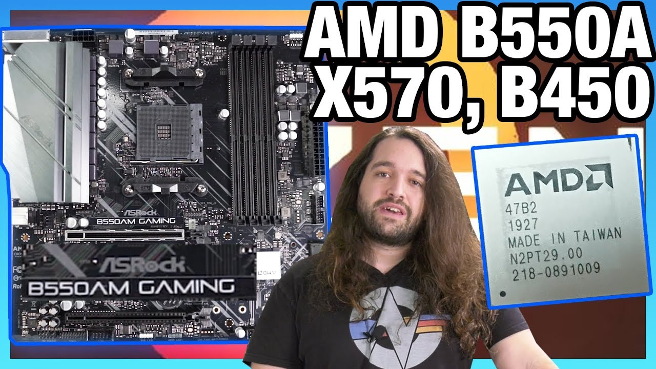 Amd B550 Chipset Vs B550a B450 Explained Asrock B550am Gaming Benchmarks Youtube