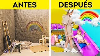 Increíble cambio de imagen de la habitación de los niños || Guía para padres
