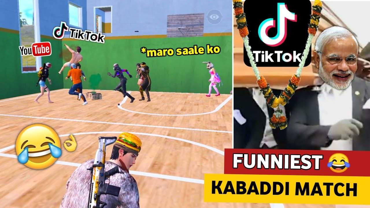 FUNNIEST KABADDI MATCH 😂🔥 IN PUBG MOBILE | YOU LAUGH YOU LOSE CHALLENGE