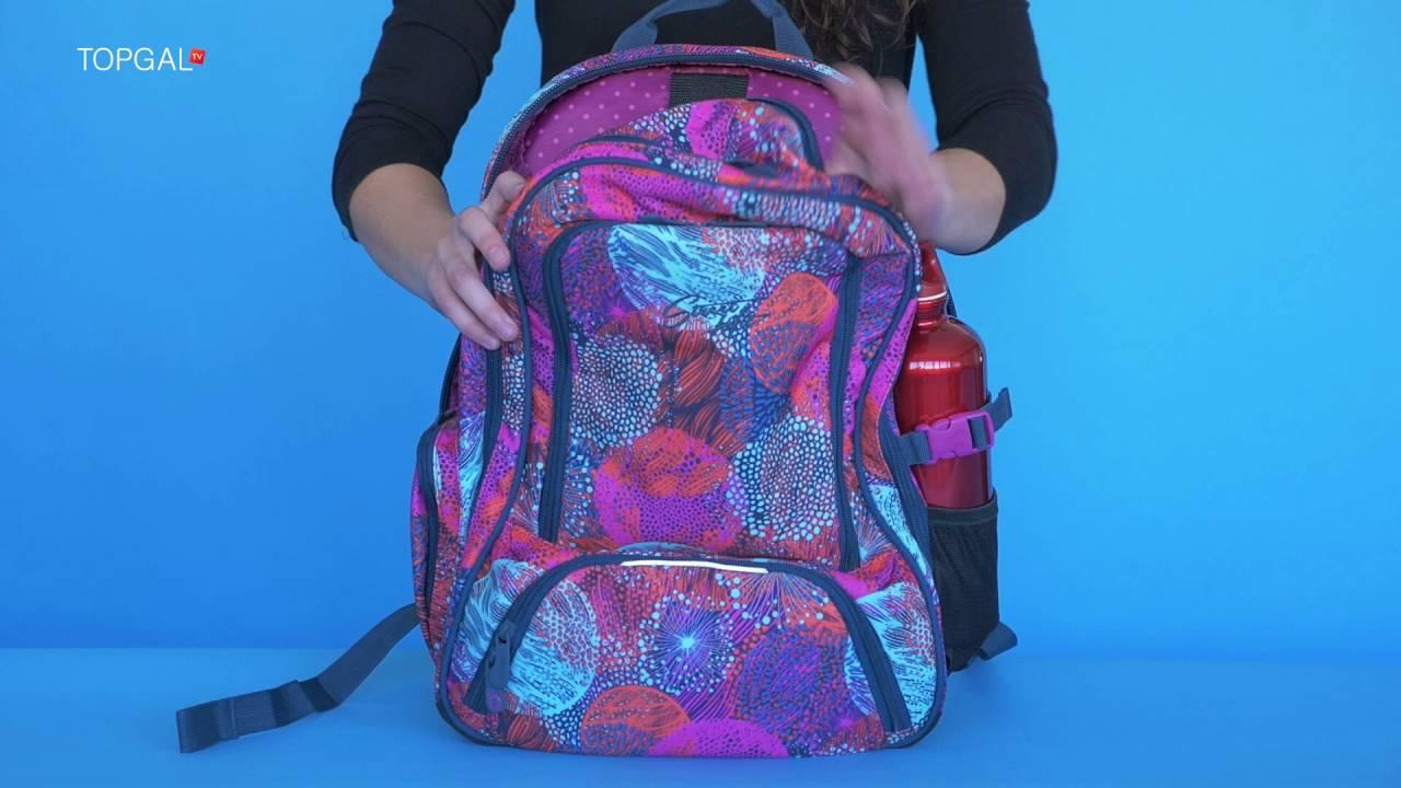 31c489ea93a Studentský batoh TOPGAL HIT 859 H - YouTube
