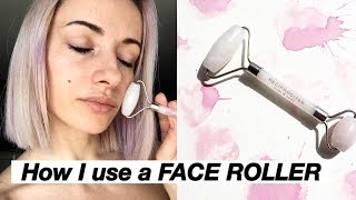 HOW I USE MY ROSE QUARTZ FACE …