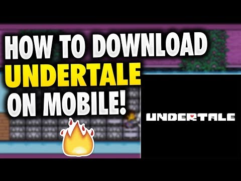 How To Download Undertale On Phone Iphone Android Apk Undertale Mobile Download Free Youtube