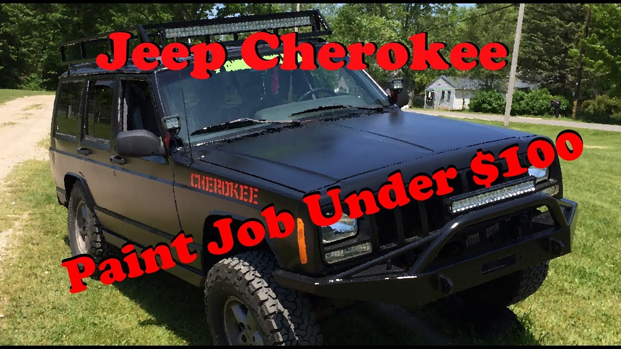 Jeep Paint Job Under 100 Youtube