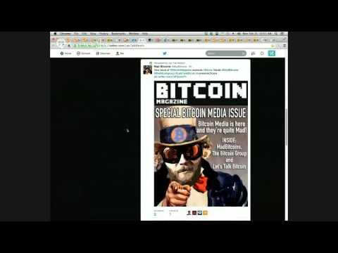 MadBitcoins Live: Mt. Goxed Again -- Bitcoin Magazine Bitcoin Media Issue -- Penn State BTC