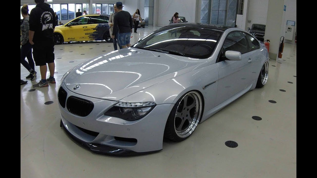 2010 BMW 650I >> BMW 6 SERIES E63 ! ROTIFORM WHEELS ! AC SCHNITZER EXHAUST ! SILVER COLOUR ! WALKAROUND ! - YouTube