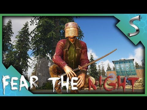 THEY COME IN WAVES! FINDING OP LOOT! - Fear The Night [Zombie Survival Gameplay]