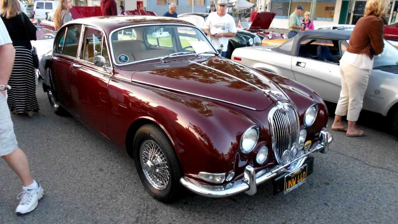 1966 jaguar 3 8 s at cruisin 39 grand youtube. Black Bedroom Furniture Sets. Home Design Ideas