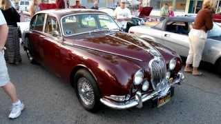 1966 Jaguar 3.8 S at Cruisin' Grand