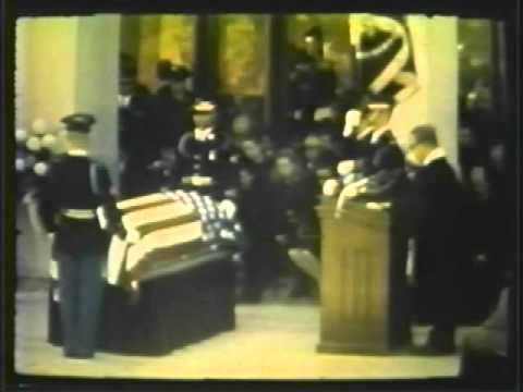 The State Funeral of Gen. Dwight Eisenhower Part 7 Final
