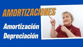 144. Diferencia entre Amortización y Depreciación:ElsaMaraContable