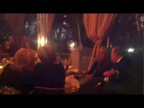Marco Sings at a party - short video