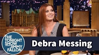 Debra Messing Has a Fine Arts Degree in Juggling