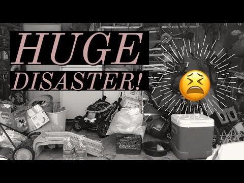 WORST ROOM YET! | Decluttering the garage!