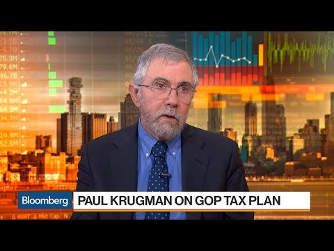 Krugman Says GOP Using 'Junk Model' for Tax Plan