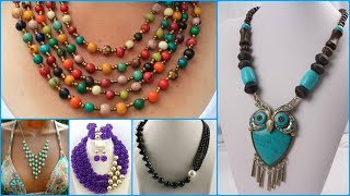 Fancy Beads Party Wear Necklace for Girls || Beads Necklace for Girls