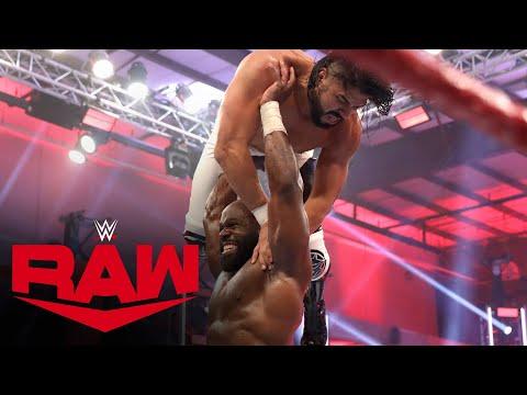 Kevin Owens & Apollo Crews vs. Andrade & Angel Garza: Raw, June 1, 2020