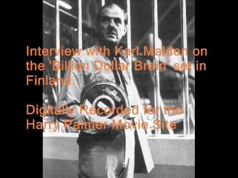 Billion Dollar Brain Interview Karl Malden