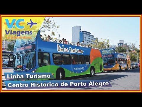 City tour Linha Turismo de Porto Alegre - roteiro Centro Histórico