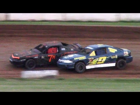 Kids Class Mini Stock Heat | McKean County Family Raceway | 7-3-18