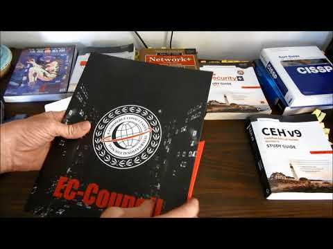 CEH Certification Unboxing