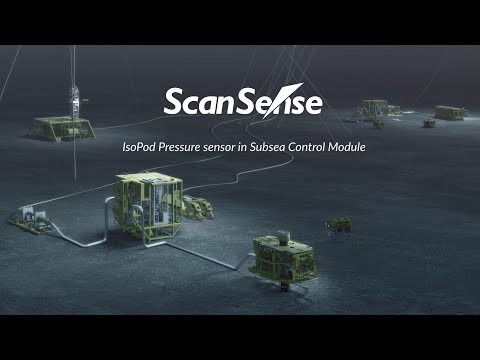 ScanSense IsoPod Pressure Sensor in Subsea Control Module